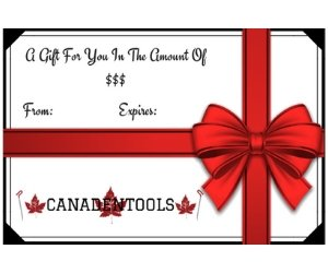 Canadentools Gift Certificate